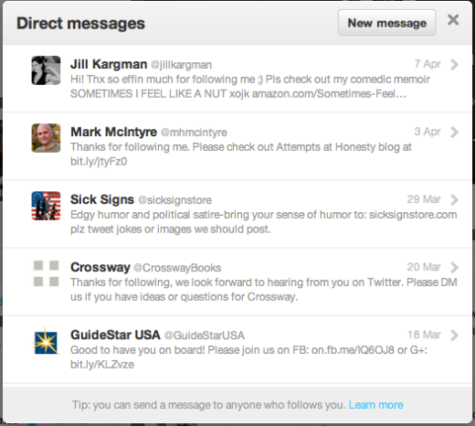 My current inbox. Like, seriously.
