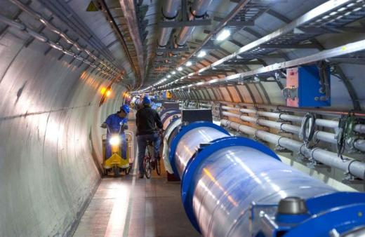 I kind of just want to live in the Large Hadron Collider's tunnel. Maybe we could make it our clubhouse.